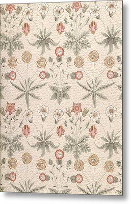 Daisy, First William Morris Design Metal Print