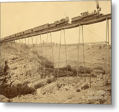 Dale Creek Bridge Union Pacific Metal Print by Getty Research Institute
