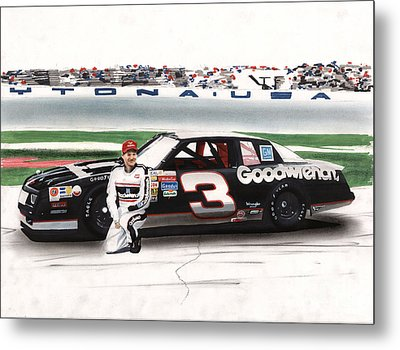 Dale Earnhardt Goodwrench Monte Carlo Metal Print