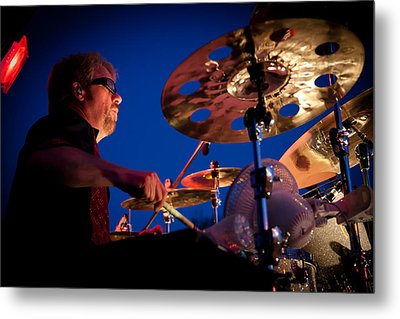 Dale Keeney Of The Fabulous Kingpins Metal Print