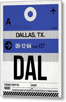 Dallas Airport Poster 1 Metal Print