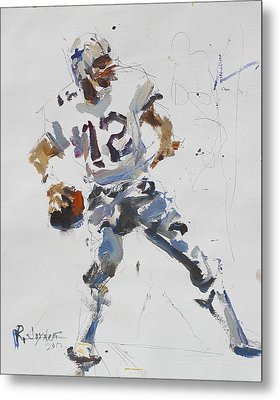 Dallas Cowboys - Roger Staubach Metal Print
