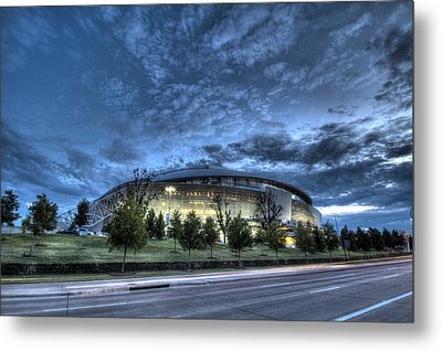 Dallas Cowboys Stadium Metal Print