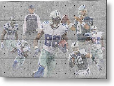 Dallas Cowboys Team Metal Print