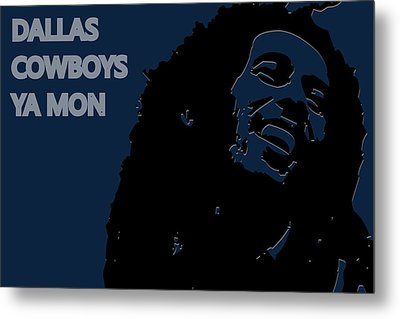 Dallas Cowboys Ya Mon Metal Print by Joe Hamilton