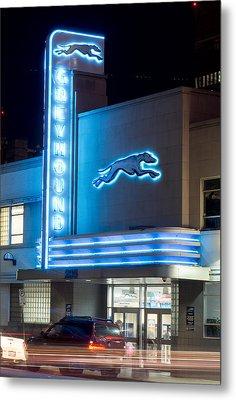 Dallas Greyhound V2 020915 Metal Print
