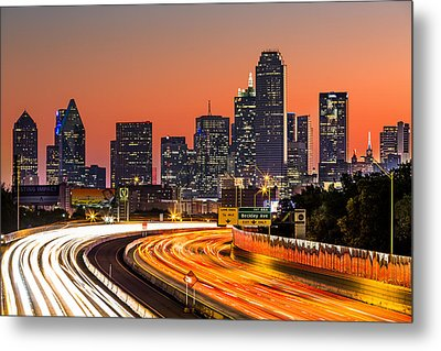 Dallas Sunrise Metal Print by Mihai Andritoiu