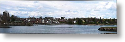 Damariscotta  Metal Print by Guy Whiteley