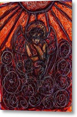 Damnation Metal Print by Rachel Scott