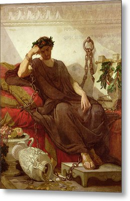 Damocles Metal Print by Thomas Couture