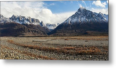 Dan Creek Williams Peak Metal Print