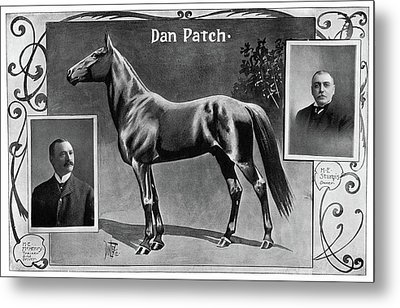 Dan Patch (1896-1916) Metal Print