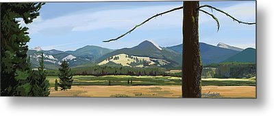Danaher View Panorama Metal Print