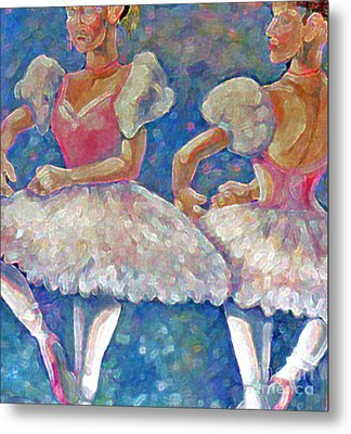 Dance Ballerina Metal Print by Rita Brown
