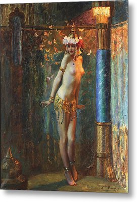 Dance De Salome Metal Print by Gaston Bussiere