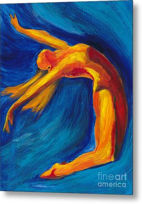 Dance Metal Print by Denise Deiloh