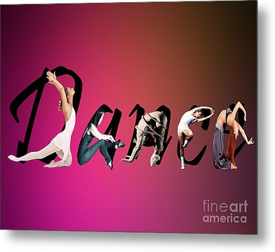 Metal Print featuring the digital art Dance Expressions by Megan Dirsa-DuBois