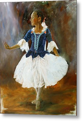 Metal Print featuring the painting Dance For Papa by Rick Fitzsimons