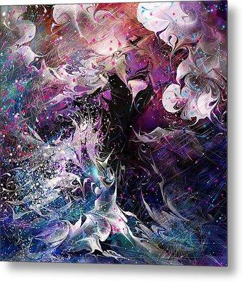 Dance In The Seas Metal Print by Rachel Christine Nowicki
