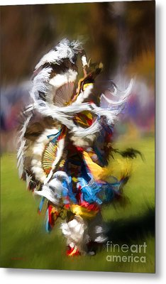 Metal Print featuring the painting Dance by Linda Blair