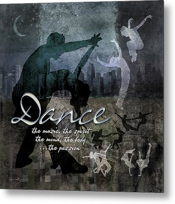 Dance Neutral Colors Metal Print by Evie Cook