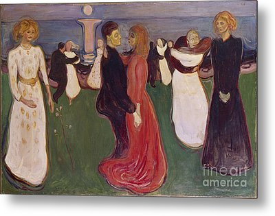 Dance Of Life Metal Print by Edvard Munch