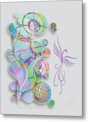 Dance Of The Fairies Metal Print by Gayle Odsather