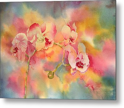 Dance Of The Orchids Metal Print