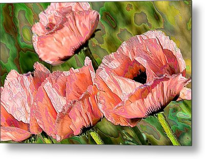 Dance Of The Poppies Metal Print