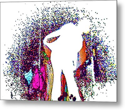 Metal Print featuring the painting Dance With Me by David Mckinney