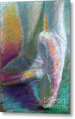 Dancer In The Doorway Metal Print by Ann Radley
