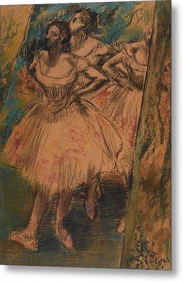 Dancer In The Wing Metal Print by Edgar Degas