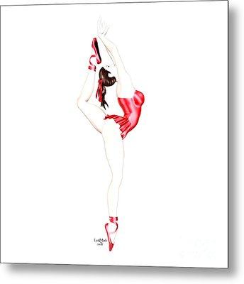 Dancer Metal Print by Renate Janssen