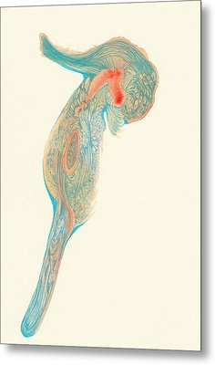 Dancer- #ss14dw017 Metal Print by Satomi Sugimoto