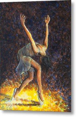 Dancer Viii Metal Print by Nik Helbig