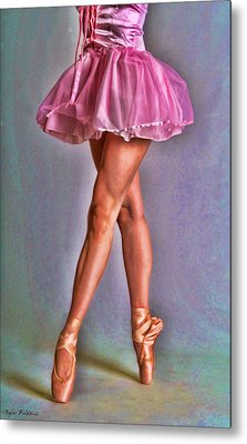 Dancer's Legs Metal Print