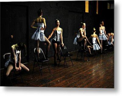 Dancers On Stage Metal Print by Jon Van Gilder
