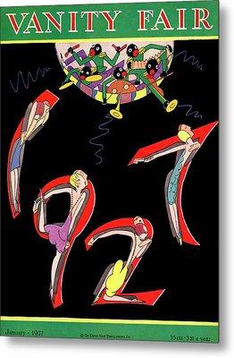 Dancers Spelling 1927 Metal Print by A. H. Fish