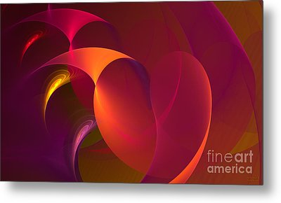 Dancing Colors Metal Print by Hanza Turgul