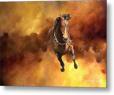 Dancing Free I Metal Print by Michelle Twohig