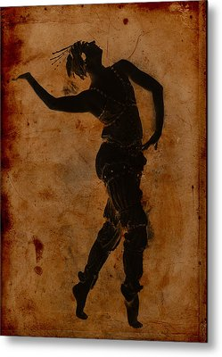 Dancing In Greek Metal Print by Sarah Vernon