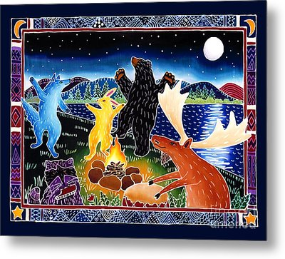 Dancing In The Moonlight Metal Print