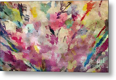 Dancing In The Wind Metal Print by Cindy McClung