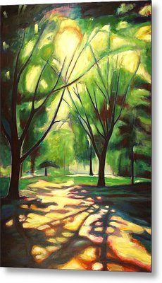 Dancing Shadows Metal Print by Sheila Diemert