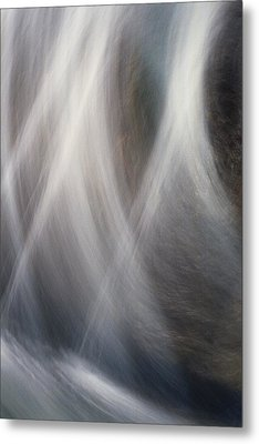 Metal Print featuring the photograph Dancing Water by Kathy Bassett