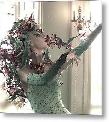 Dancing With Butterflies Metal Print by Marianna Mills