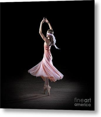 Dancing With Closed Eyes Metal Print by Cindy Singleton
