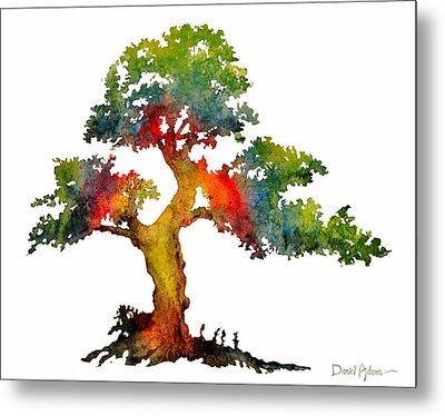 Da140 Rainbow Tree Daniel Adams Metal Print