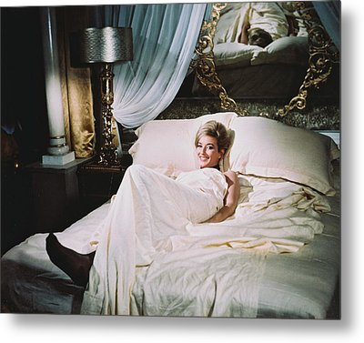 Daniela Bianchi In From Russia With Love  Metal Print by Silver Screen