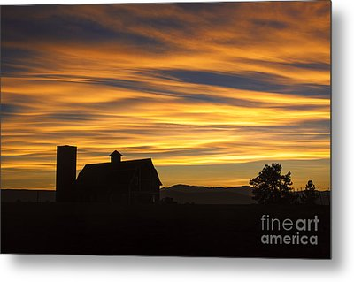 Daniel's Sunset Metal Print